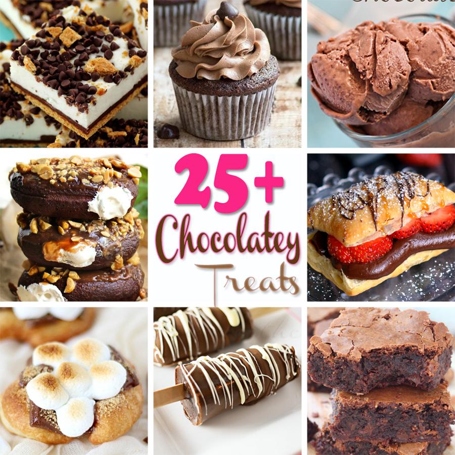 25+ Chocolatey Treats