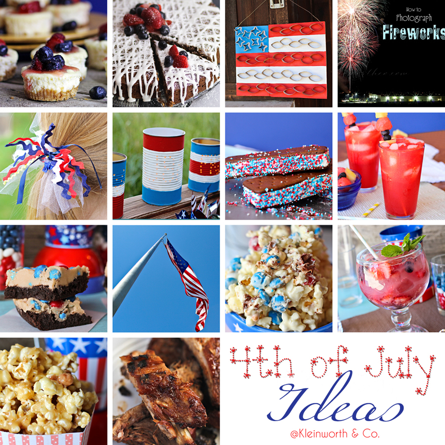 4th of July Ideas, www.kleinworthco.com