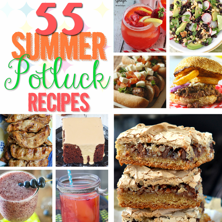 55 Summer Potluck Recipes