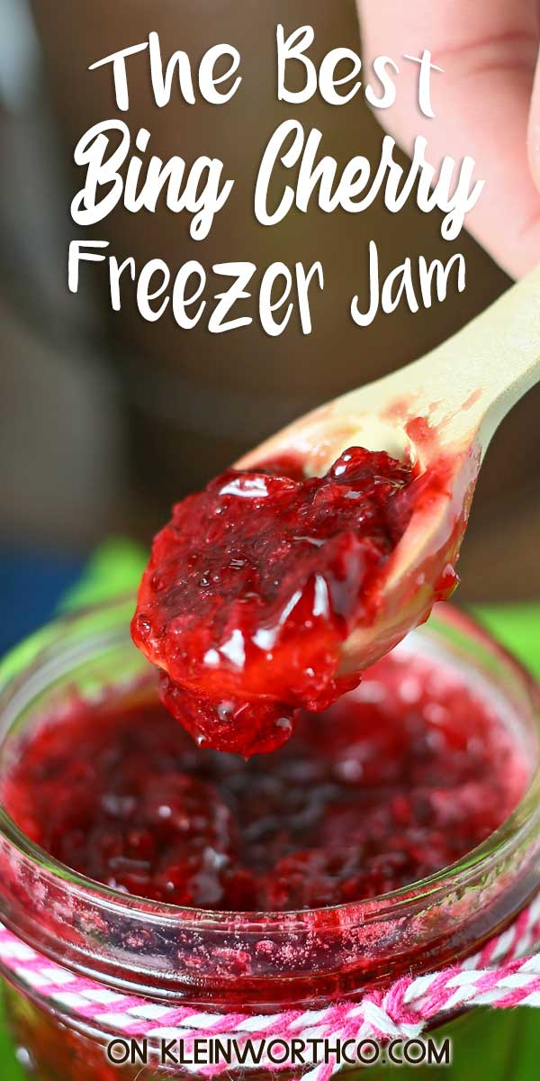 Bing Cherry Freezer Jam