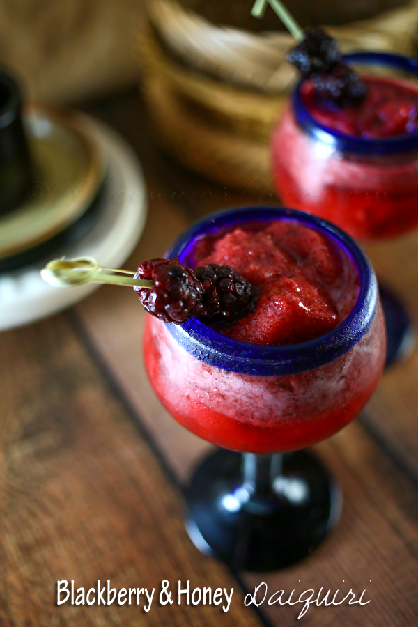 Blackberry & Honey Daiquiri