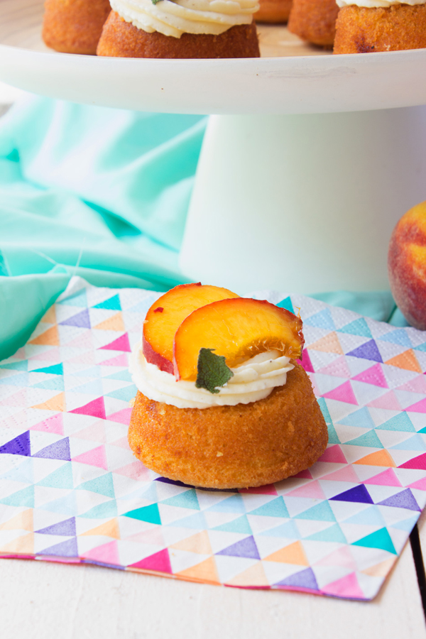 Bourbon Peach Tea Cakes