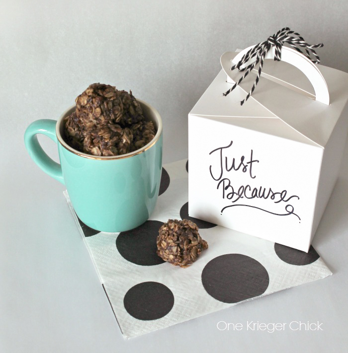 Coffee Infused No-Bake Cookies from One Krieger Chick for Kleinworth & Co.