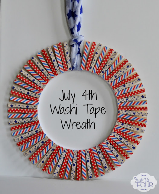 Washi Tape Wreath