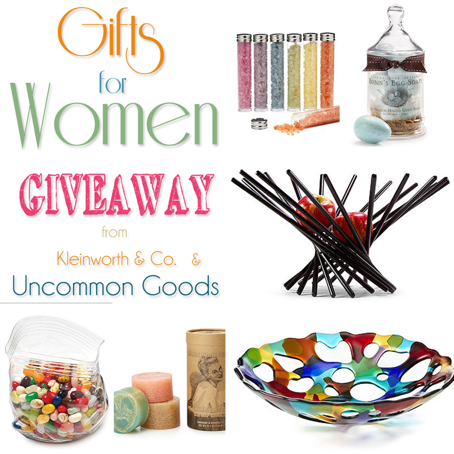 Gifts for Women - Giveaway