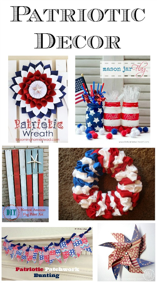 Patriotic Decor Round-Up