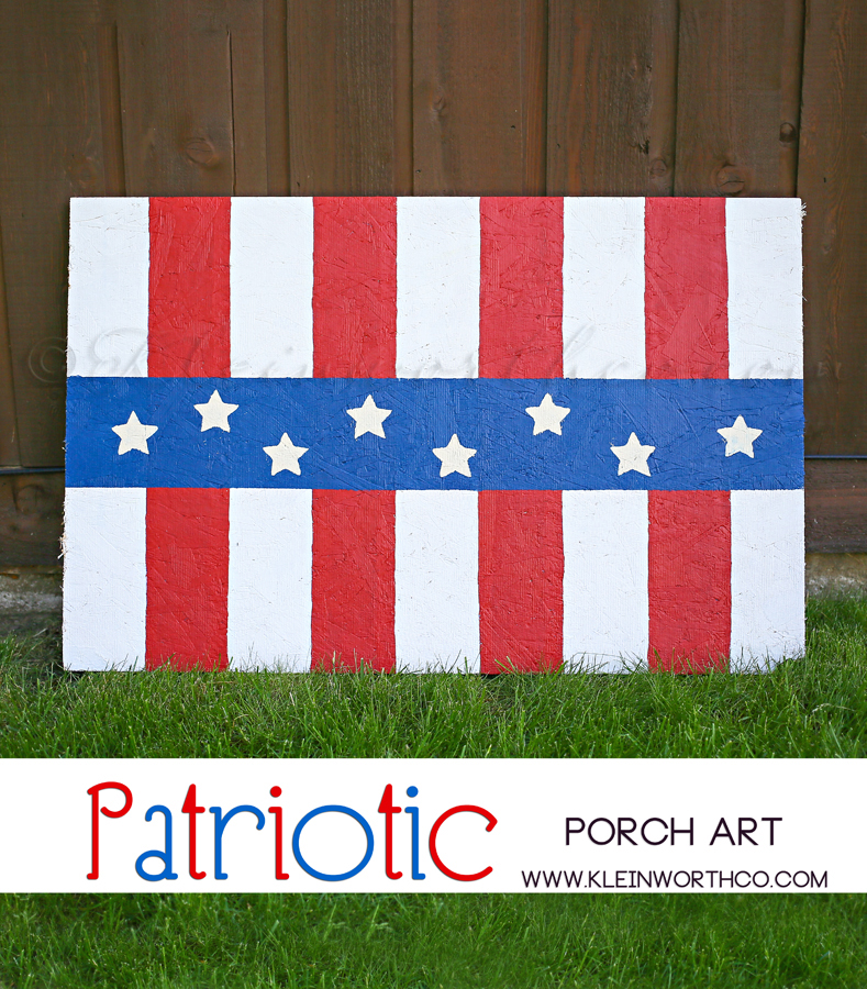 Patriotic Porch Art