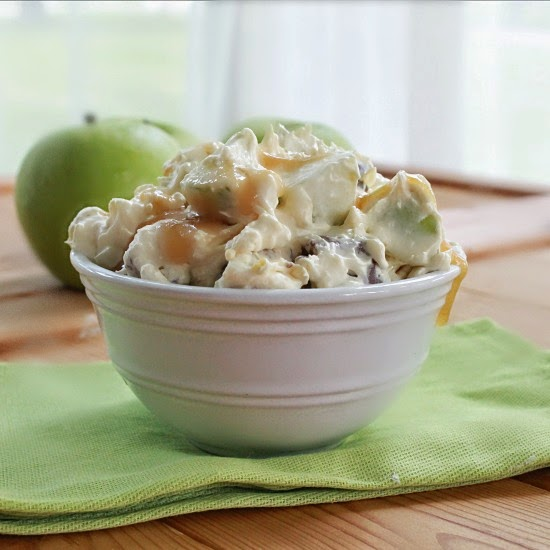 Snickers Taffy Apple Salad
