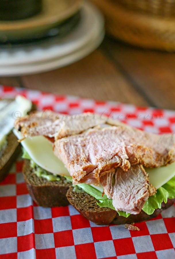 Pepperoncini Pork Tenderloin Sandwich