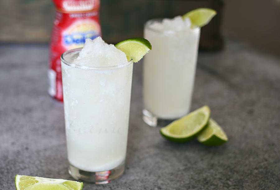 Tropical Cream Slushie