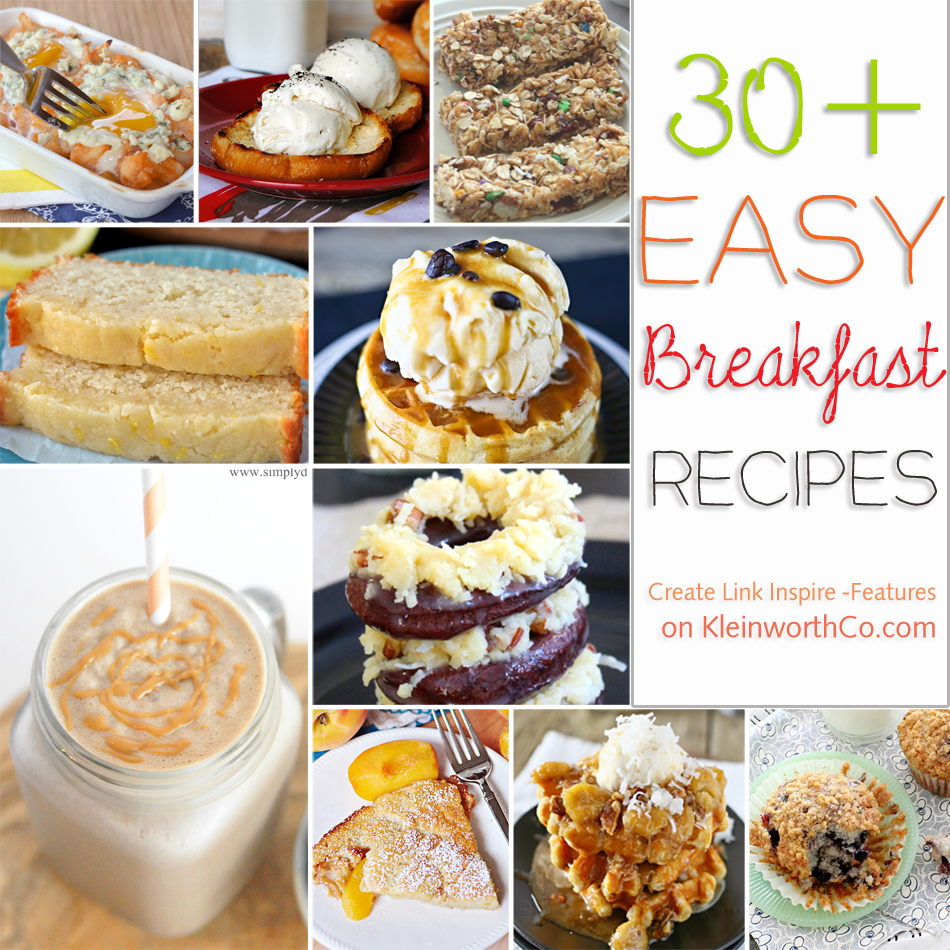 30+ Easy Breakfast Recipes