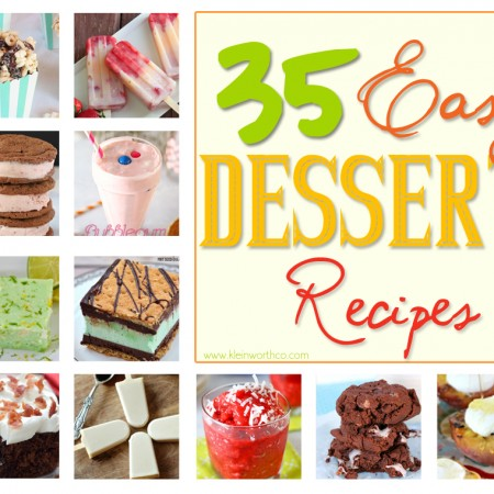 35 Easy Dessert Recipes