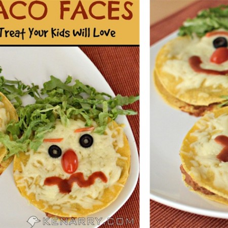 Crazy Taco Faces