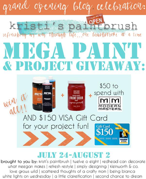 MEGA Paint {Giveaway}