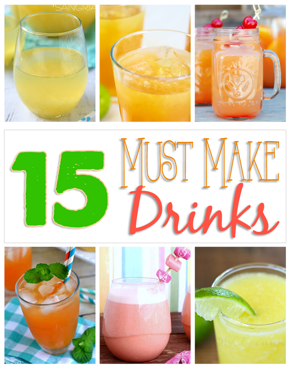 15 Must Have Baby Items Essential For Life With A Newborn: 15 Must Make Drink Recipes