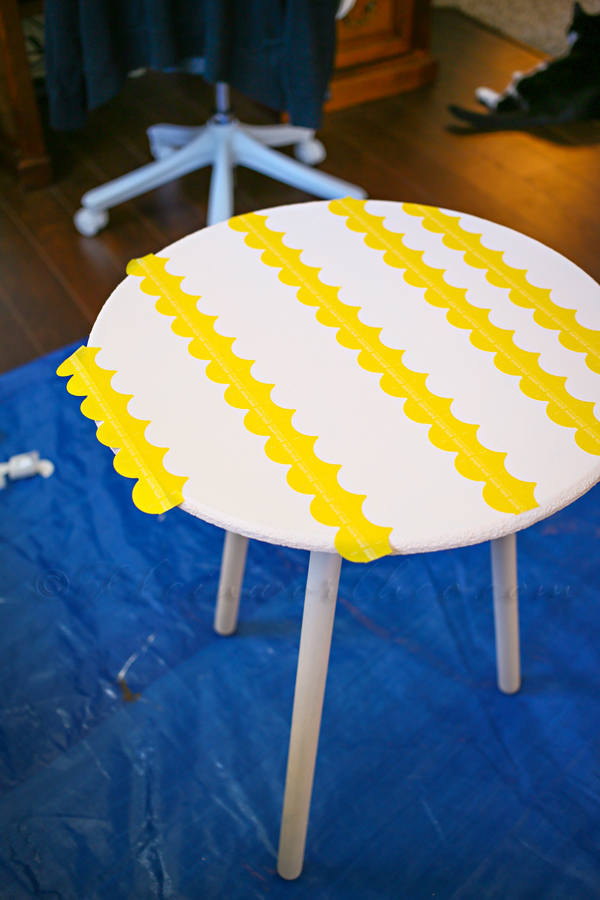 Glitter Wave Table MakeOver