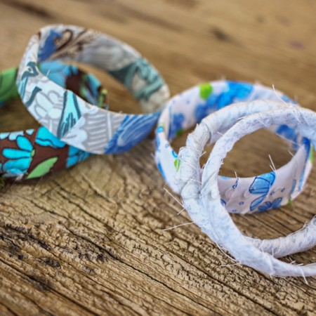 Rag Wrapped Bracelets