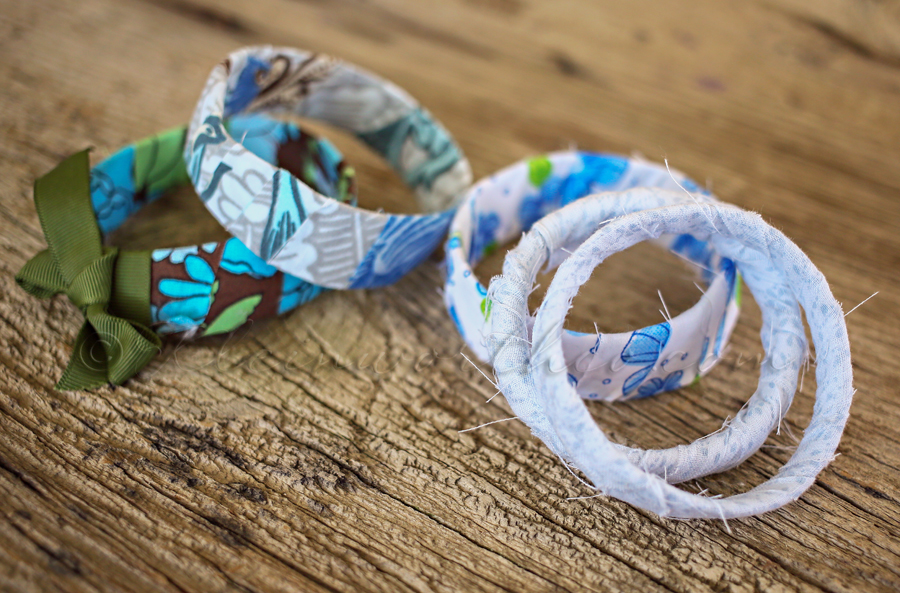 Rag Wrapped Bracelets {Back to School Tween Craft Project}