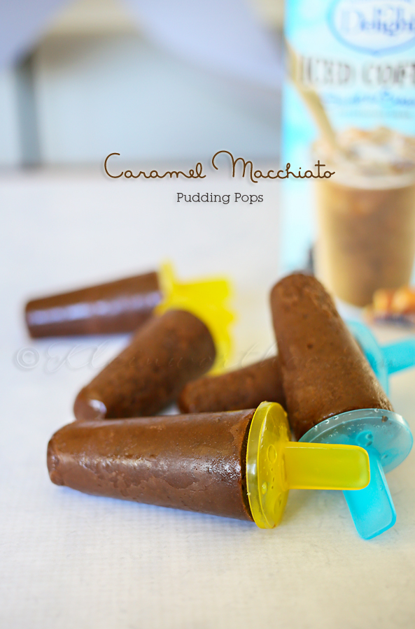 Caramel Macchiato Pudding Pops