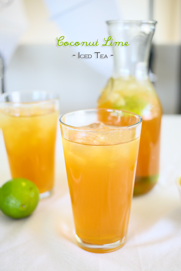 Coconut Lime Tea