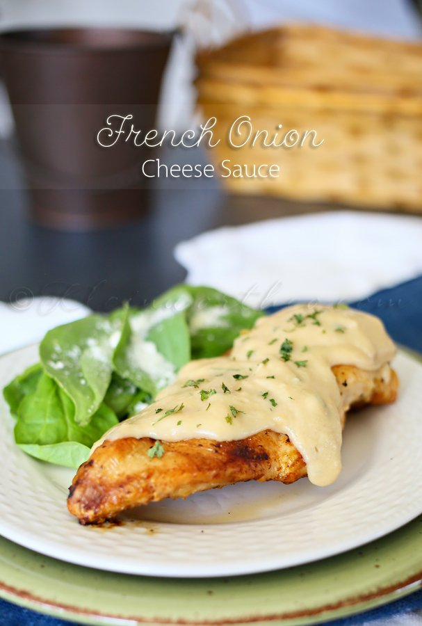 French Onion Cheese Sauce