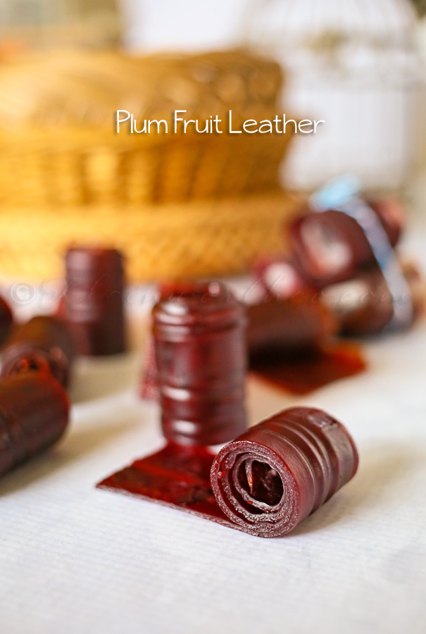Plum Fruit Leather