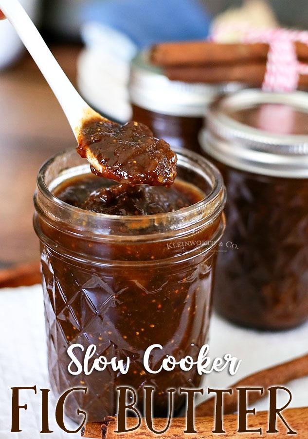 Slow Cooker Fig Butter