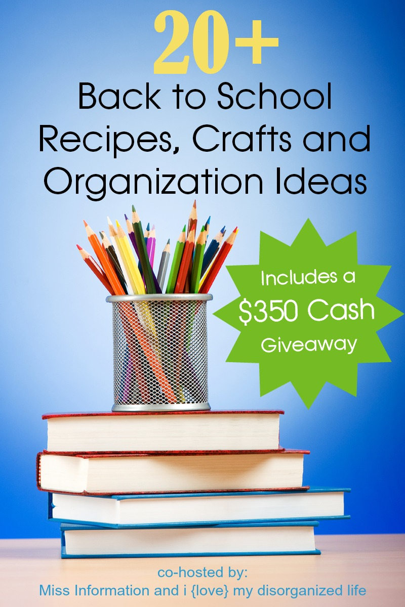 Back to School Extravaganza & Giveaway