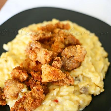 Popcorn Pork & Rice Supreme {Dinner in 30 minutes}