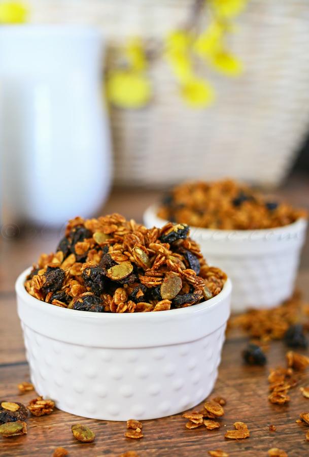 Peanut Butter Granola Cereal