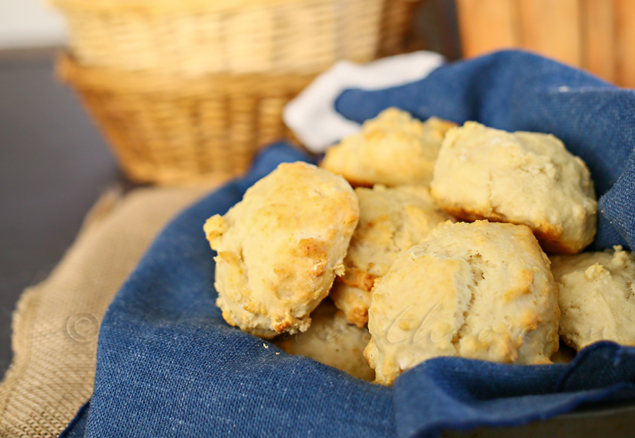 15 Minute Drop Biscuits