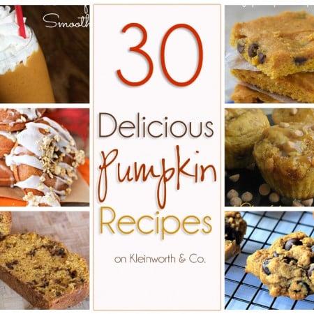 30 Delicious Pumpkin Recipes