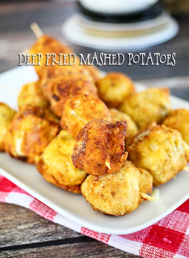 Deep Fried Mashed Potatoes