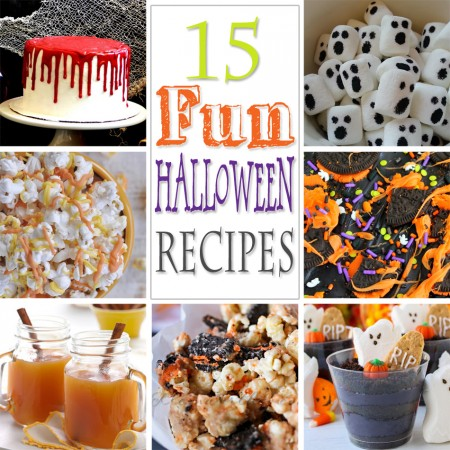 15 Fun Halloween Recipes