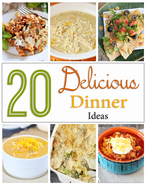 20 Delicious Dinner Ideas