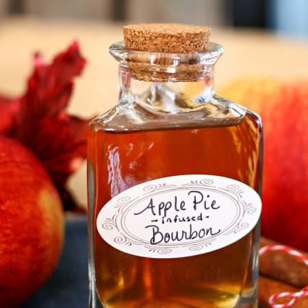 Apple Pie Infused Bourbon {Bourbon Week – Day 1}