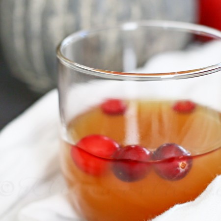 Cran-Apple Bourbon Punch {Bourbon Week – Day 4}