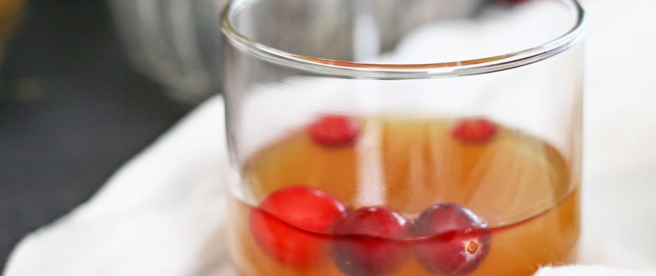Cran-Apple Bourbon Punch {Bourbon Week – Day 4}