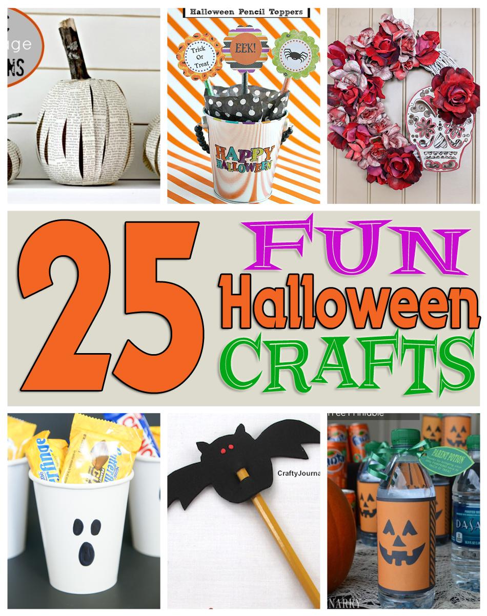 25 Fun Halloween Crafts