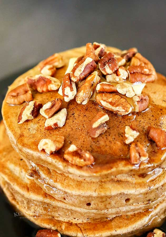 How to make Apple Butter Pancakes
