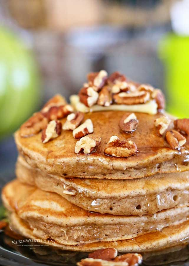 Apple Butter Pancakes recipe