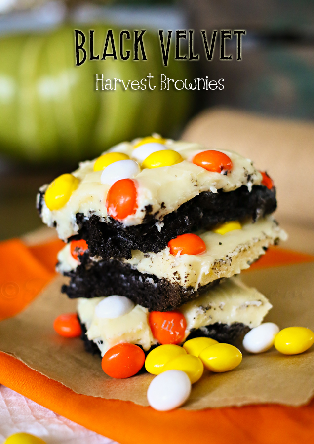 Black Velvet Harvest Brownies