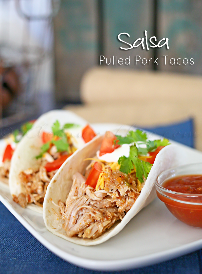 Salsa Pulled Pork Tacos