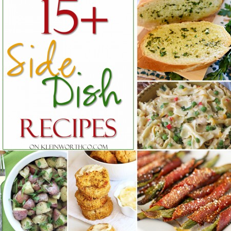 15+ Side Dish Recipes