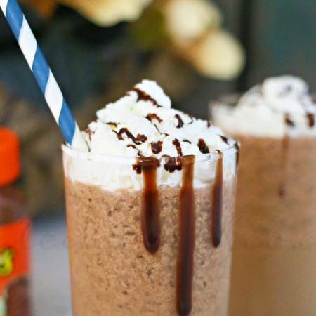 Reese's Frappuccino w/ Reese's Spreads