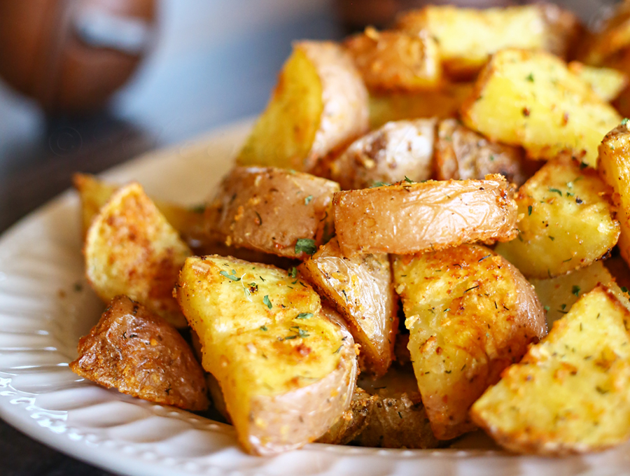 Effortless Oven Roasted Potatoes