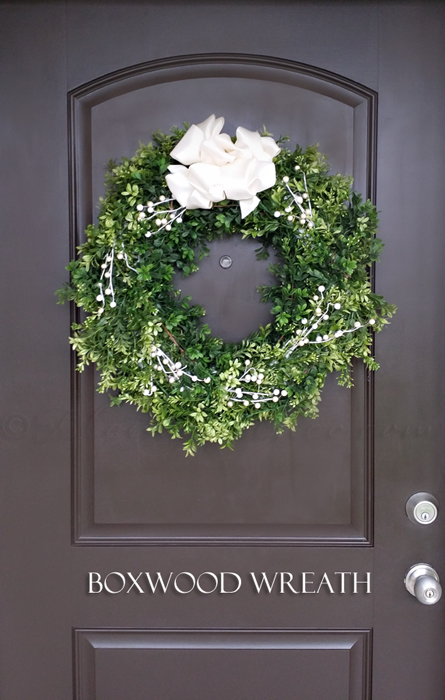 Boxwood Wreath from kleinworthco.com