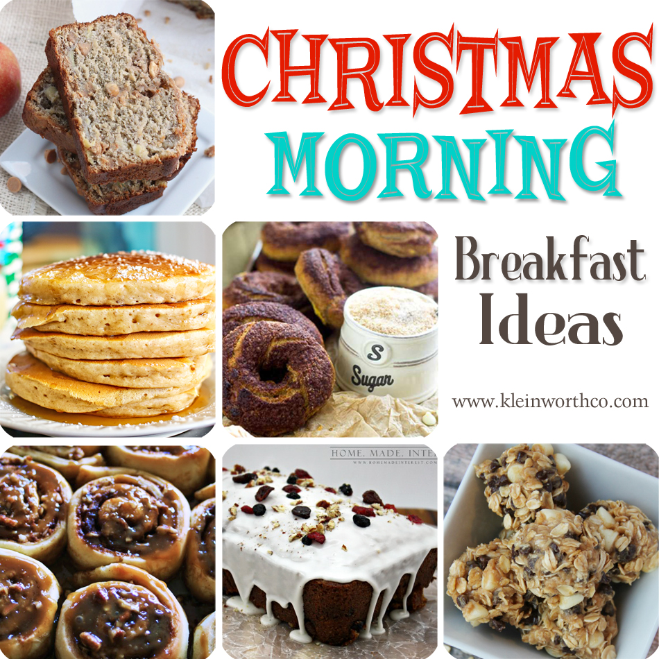 christmas morning breakfast ideas kleinworth co