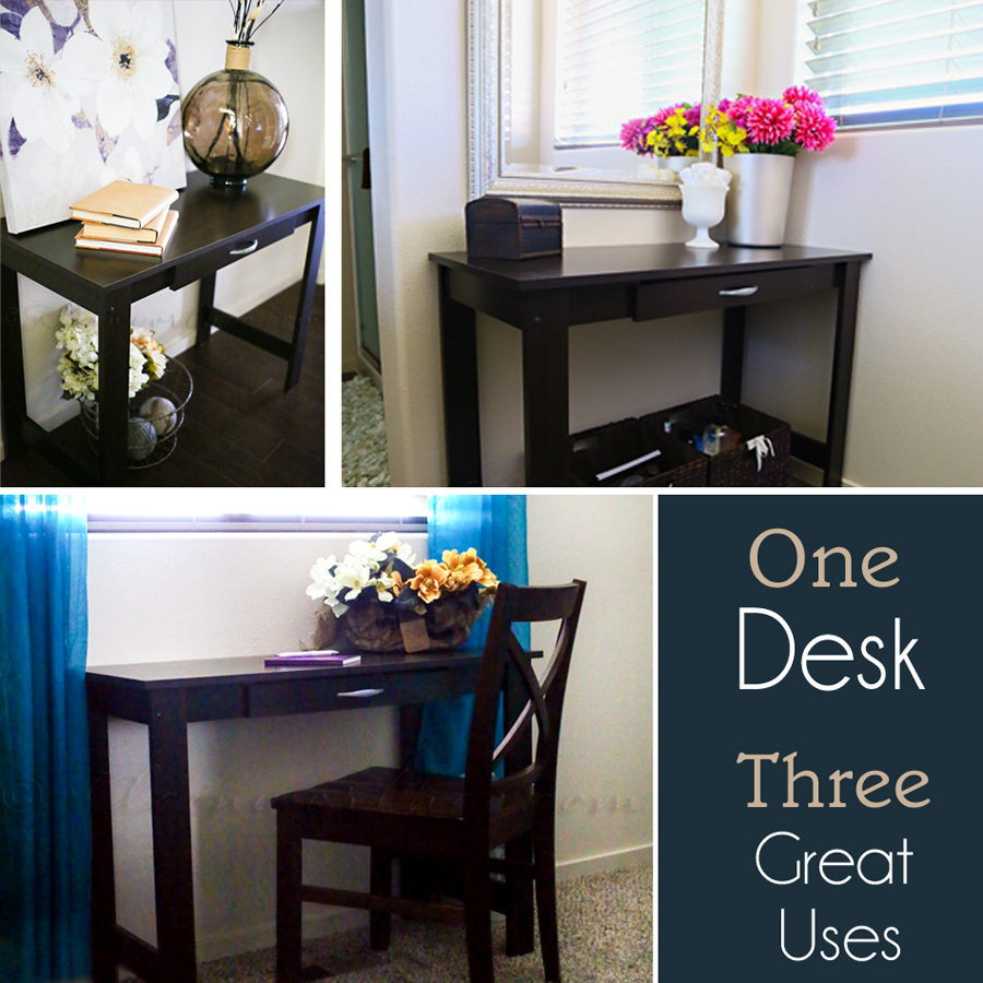 One Desk Three Great Uses