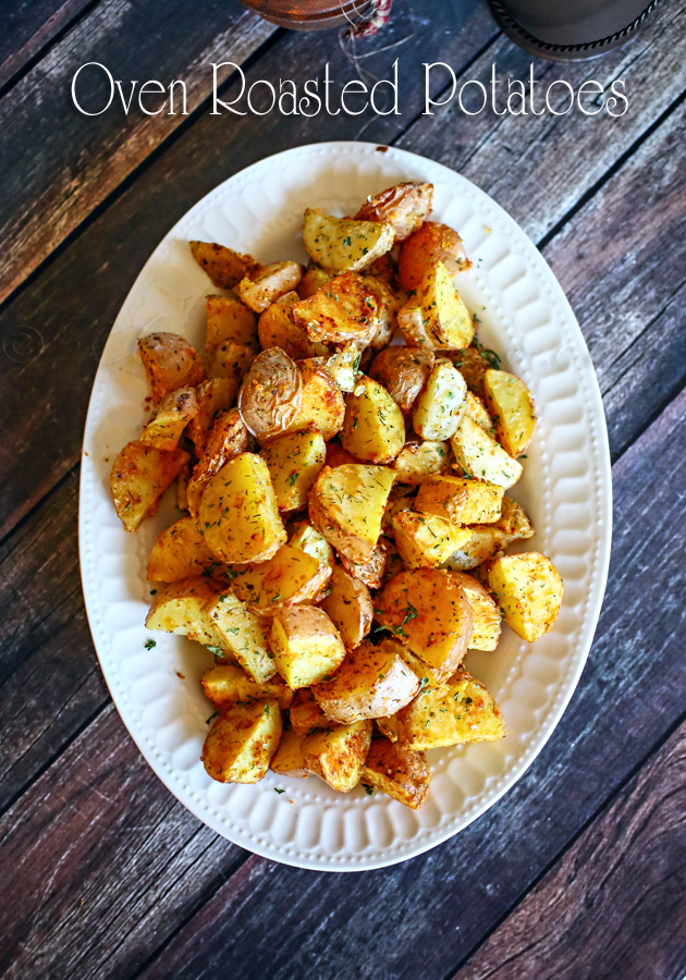 Effortless Oven Roasted Potatoes